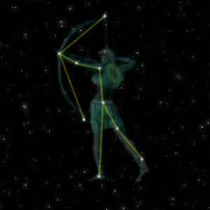 Constellation of the Archer